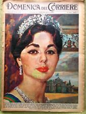 La Domenica del Corriere 9 Ottobre 1960 Farah Diba Bardot Nixon Kennedy Tognazzi