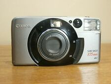 Canon Sure Shot 105 Zoom 38-105 mm Battery Lithium 3V 35mm FILM USED CAMERA