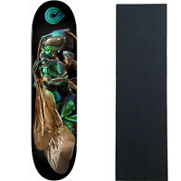 "Powell Peralta Skateboard Deck Biss Cuckoo Bee 8.0"" x 31.45"" with Grip"