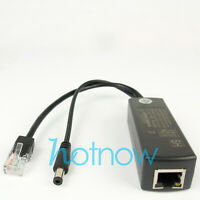 4pcs Active PoE Splitter Power Over Ethernet 48V to 12V 1A-2A 802.3af Standard