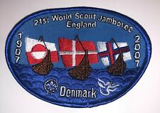 2007 World Jamboree  -Danish Contingent badge
