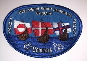 2007 World Jamboree  -Danish Contingent badge