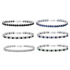 Cubic Zirconia Tennis Fashion Bracelets