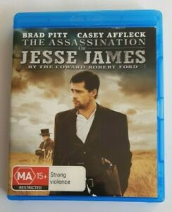The Assassination of Jesse James by the Coward Robert Ford Blu-Ray Movie  VGC
