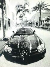 Lifestyle Fotografie Werbung Mercedes SL Sportwagen Foto Meinrath GÜNTHER ~2000