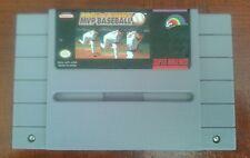 Vintage Roger Clemens' MVP Baseball (Super Nintendo Entertainment System, 1992)