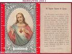3506 SANTINO HOLY CARD SACRO CUOR CUORE DI GESù