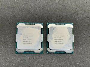 Intel Xeon E5-2640 V4, SR2NZ @2.40GHz, J608C401, Processor