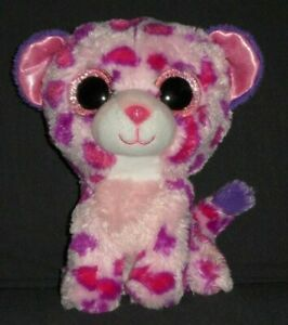 """TY BEANIE BOOS - GLAMOUR the 6"""" LEOPARD - NO HANG TAG"""
