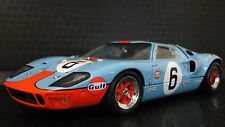 1966 GT40 Ford GT Race Sport Car 1 24 Exotic Racer Carousel Blue Rare Model 18