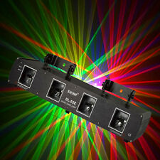SHINP RGPY Green Red Purple Yellow 460MW Four Lens DMX Laser Stage Lighting 55C