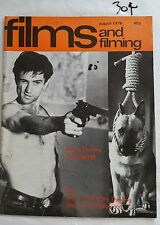 Films & Filming,1976 Aug,Robert De Niro Taxi Driver Cover