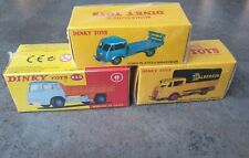 3 Dinky Atlas Bedford Tipper, Ford Camion Bache Calberson, Ford Plateau Brasseur