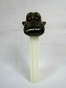 PEZ Gorilla No Feet Dispenser White Stem 1975 Pat No 3.845 USA