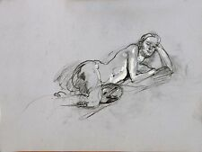 Keith Gunderson Life Drawing Female Model