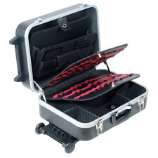 Pro'sKit TC-311 Heavy-Duty ABS Case With Wheels And Telescoping Handle Tool