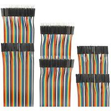 120pcs Breadboard Jumper Wires 10cm 15cm 20cm 30cm 40cm 50cm 100cm Length Dupont