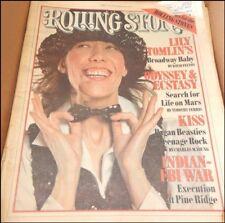 ROLLING STONE MAGAZINE LILY TOMLIN APRIL 7, 1977