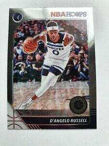 19-20 Premium Hoops D'Angelo Russell #18 Minnesota Timberwolves