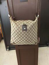 Authentique sac messenger Gucci monogramme,Gucci Shoulder Messenger monogram bag
