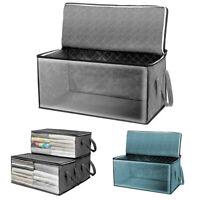 Large Light Large foldable Closet Blanket Luggage Organiser Storage Bag Case Box