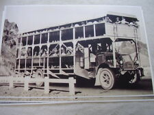 1934 MACK TRUCK BUS? CARRY WORKERS HOOVER DAM PROJECT  11 X 17  PHOTO  PICTURE