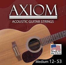 Axiom Acoustic Guitar Strings 12-53 Made in USA