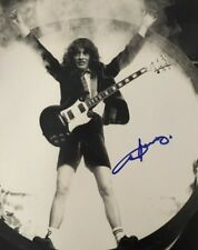 Angus Young Signed Photos AC/DC Autographed Picture 11×14 Guitar Legend Proof