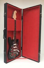 Red Hot Chili Peppers Tribute Guitar miniature with Case and Stand (UK)