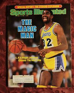 SPORTS Illustrated May 13 1985 MAGIC JOHNSON Kentucky Derby Charles Barkley