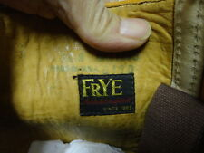 VINTAGE 60'S FRYE  TALL BOOTS US MADE MOTORCYCLE GREAT COND NOT MUCH USED 7.5B