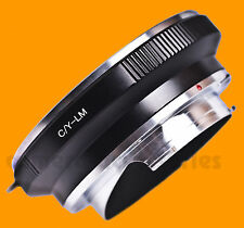 C/Y CY Contax Yashica lens to Leica M LM mount Adapter Ring for M9 M9-P M8 M7 M3