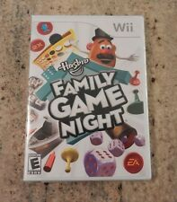 New Sealed Nintendo Wii Hasbro Family Game Night ~SHIPS FREE