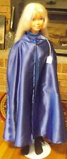 Royal Blue Satin Long Cape for Child or Short Cape for Teen / Small Adult FSGC11
