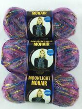 Lion Brand Moonlight Mohair Painted Desert Yarn Lot of 3 Skeins