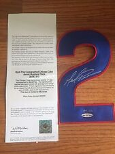 CHICAGO CUBS MARK PRIOR SIGNED AUTOGRAPHED NUMBER LIMITED TO 50 UDA COA