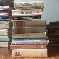 LOT of 13 Philosophy Psychology Mythology Occult Esoteric Metaphysical Books