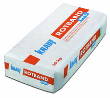 Knauf Rotband Pro Haftputzgips Leicht 30 kg 0,8 mm Körnung Innenputz fein Putz