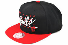 MITCHELL AND NESS CHICAGO BULLS SNAPBACK CAP NBA AUTHENTIC - IMPORTED FROM USA