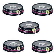 50 TDK  DVD-RW 4.7 GB (4x) 120Min DVD Rewritable (5x10 spindle) t19525