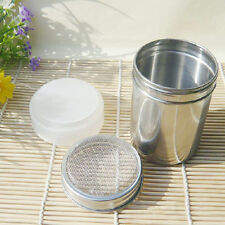 Flour Icing Sugar Cappuccino Sifter Chocolate Shaker Cocoa Stainless Steel 1#A