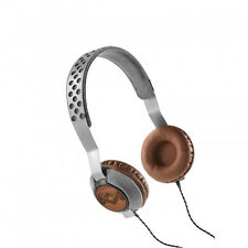 House of Marley Liberate on Ear Headphones With 3 Button Mic - Saddle