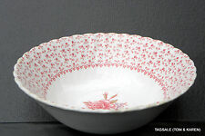 """JOHNSON BROS BROTHERS ~ ROSE BOUQUET PINK ~ 8 1/4"""" ROUND VEGETABLE BOWL"""