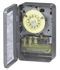INTERMATIC T102 Electromechanical Timer,24 hr.,40A,NEMA1