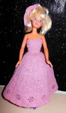 """Vintage 1990 Kenner Cool Cuts Kara cut and style doll 13"""" with Dress"""