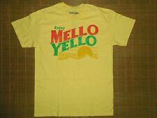 Men's Vintage Soda Tshirt Mello Yello Retro 80's Style NWOT sz MED Pop Art Coke