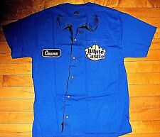 * WHITE CASTLE Staff Uniform Smock * NEW T Shirt L Authentic Image Harold Kumar