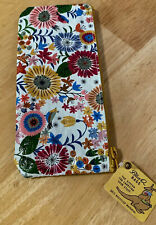 Recycle Blue Q Bags Flower Field Pencil Case Bag Environment Friendly New