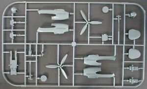 Eduard 1/48th Scale Bf 110G-4 - Parts Tree R from Kit No. 8208
