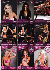 2009 Tristar TNA Knockouts 89 Card Set Angelina Love Christy Hemme Velvet Sky